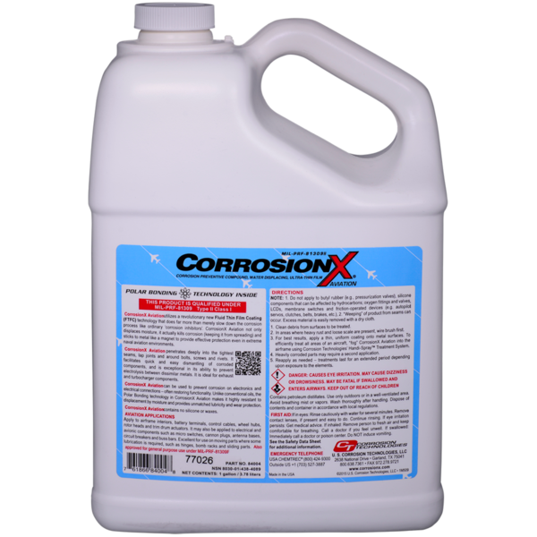 CorrosionX® Aviation im Kunststoff-Kanister 3,785 Liter (1 Gallon)