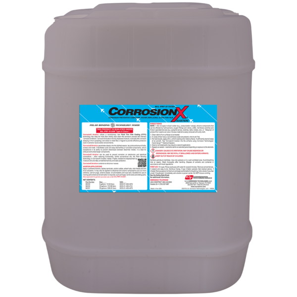 CorrosionX® Aviation im Kunststoff-Kanister 18,927 Liter (5 Gallon)